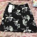 花柄ニットタイトスカート