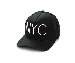 【ブラックNYCキャップ】韓国ファッション オルチャン