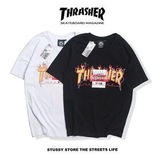 人気美品 格好いい/THRASHERTシャツth-08