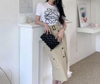 カジュアルTシャツ+スカートセット