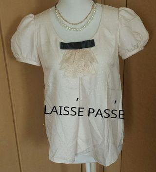LAISSE PASSE  レースフリルトップス