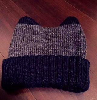 2 Tone  KNIT CAP