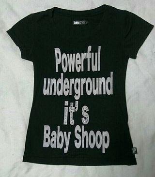 babyShoopロゴTシャツ