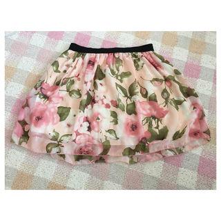 WONDER ROCKET 花柄スカート