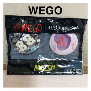 WEGO 缶バッジ