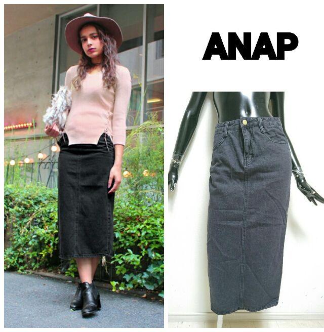 ANAP*ロングスカート(ANAP(アナップ) ) - フリマアプリ&サイトShoppies[ショッピーズ]