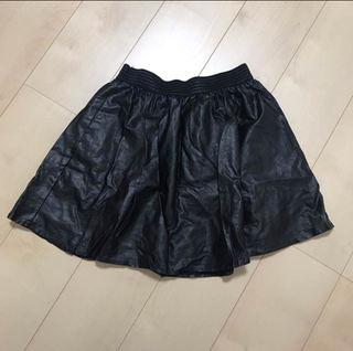 レザー ミニスカート