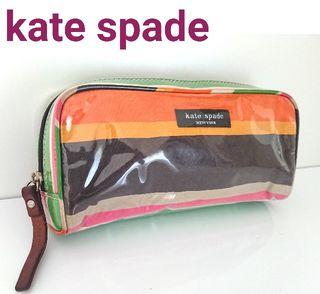ケイト スペード エナメル 化粧 ポーチ 小物入れ バッグ