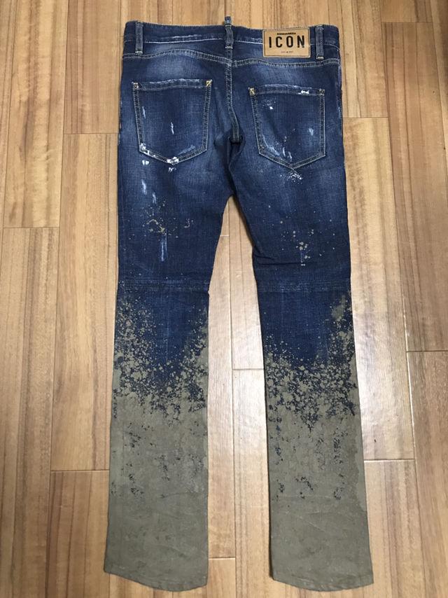 【超希少】DSQUARED2 泥加工 デニムパンツ 44