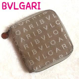 BVLGARI ブルガリ 二つ折り正規品 ラウンドファスナー