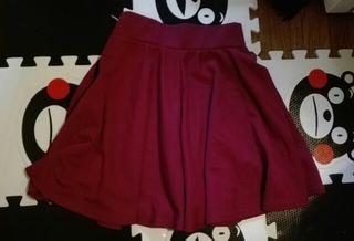 VANITY FACE 赤スカート
