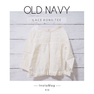 【OLD NAVY】新品 長袖カットソー