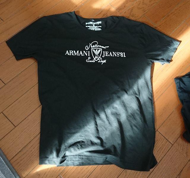 アルマーニ Tシャツ ユニセックス メンズ