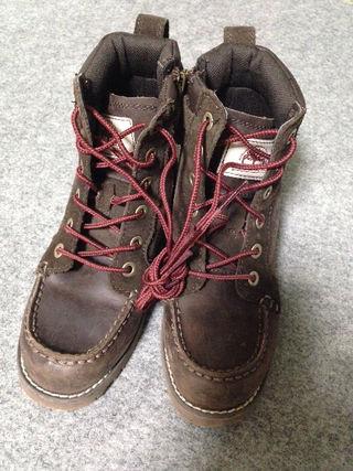 Timberland キッズ ジュニア ブーツ 19cm