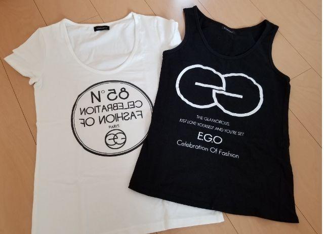 EGOISTロゴTシャツ2枚セット