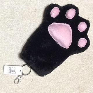新品 タグ付き猫の肉球 パスケース