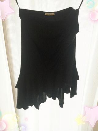 ディアプリンセスタイト スカート黒M黒