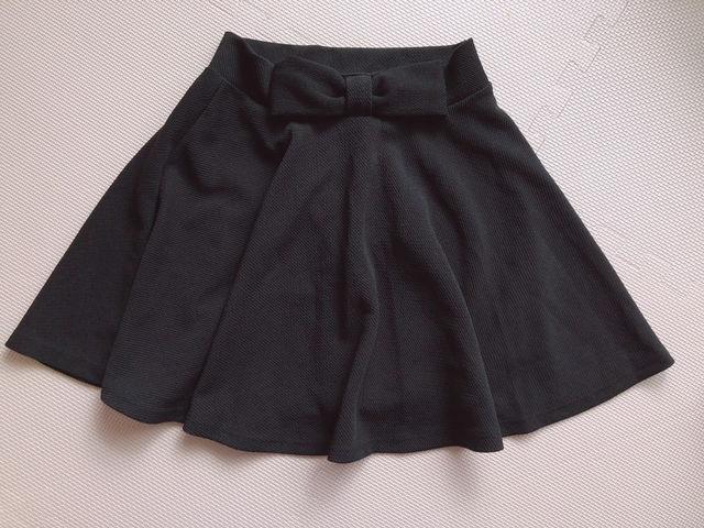 【新品】黒リボンスカート - フリマアプリ&サイトShoppies[ショッピーズ]