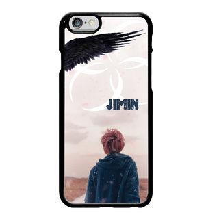 ジミン wings iphoneケース (メタル平面)