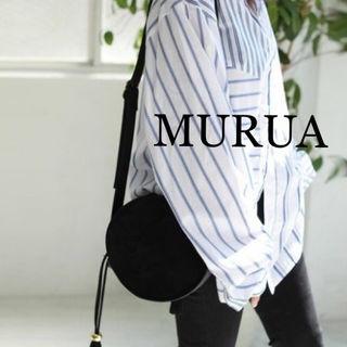 新品 MURUA ラウンドショルダーバッグ