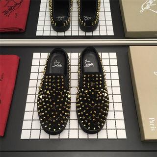 人気 カップル クリスチャンルブタン 靴