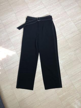 aquagirlベルト付きパンツ新品¥17280