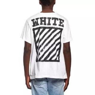 オフホワイト 半袖 Tシャツ カップル