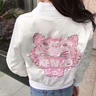 kenzo レディース 刺繍 アウター ジャケット