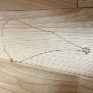 4 10K ピンクゴールド ネックレス