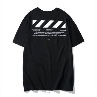 新品 男女兼用  人気 TシャツOFF-32