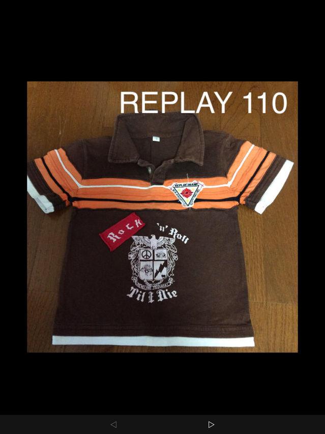 リプレイ ポロシャツ 0(Replay(リプレイ) ) - フリマアプリ&サイトShoppies[ショッピーズ]