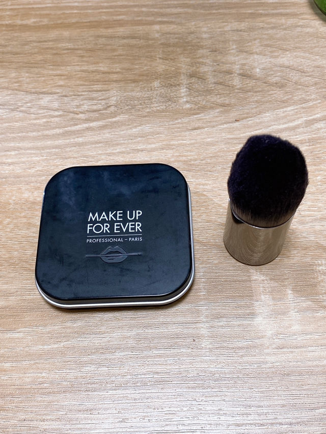 makeup forever チークandブラシセット