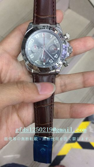 デイトナ自動巻き腕時計