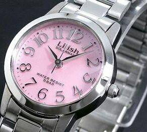 シチズンピンクソーラー腕時計送料無料新品