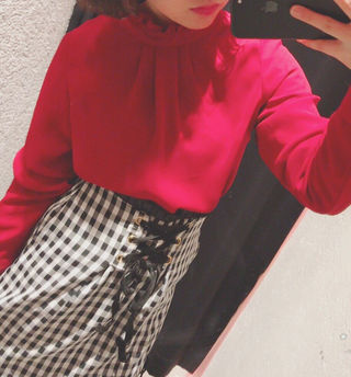 スピンズ フリル スカート