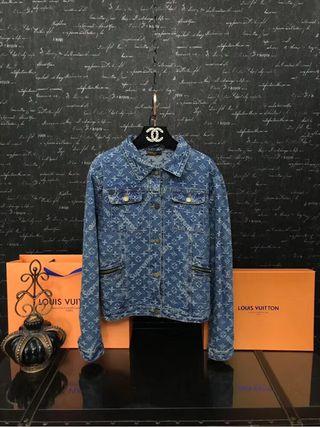 Sup×LV定番人気 ファッションのデニムジャケット 高品質