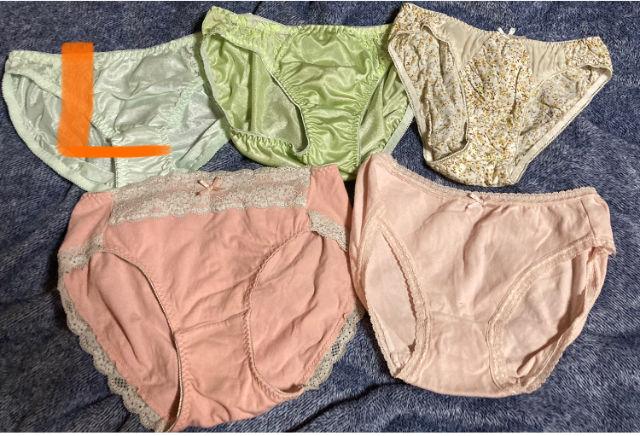 Mサイズ ショーツ6枚まとめ売り 新品 サテン 綿 混合