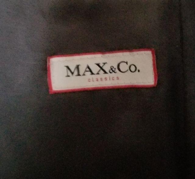 Max&Co.チャコールグレーのチェスターロングコート