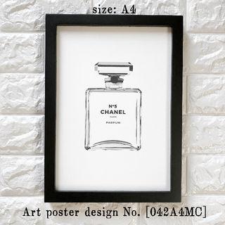【042A4MC】CHANEL N°5 アートポスター