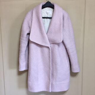 リリディア チェスターコート ベビーピンク サイズ2 ウール