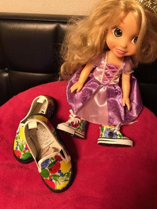 ハンドメイド子供靴セット
