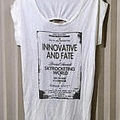 DELYLE 背中開き デザインロングTシャツ