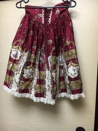 アリスアンドザパイレーツ コルセットスカート