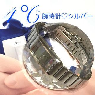 4腕時計シルバー電池交換済み