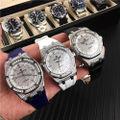 「激売れ」オーデマピゲ 腕時計全自動機械式 黒白青3色ベルド