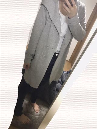 AZUL フード付きジャケット