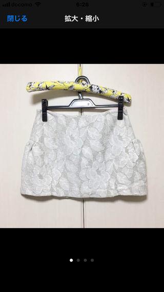 プロポーションボディドレッシング フラワースカート