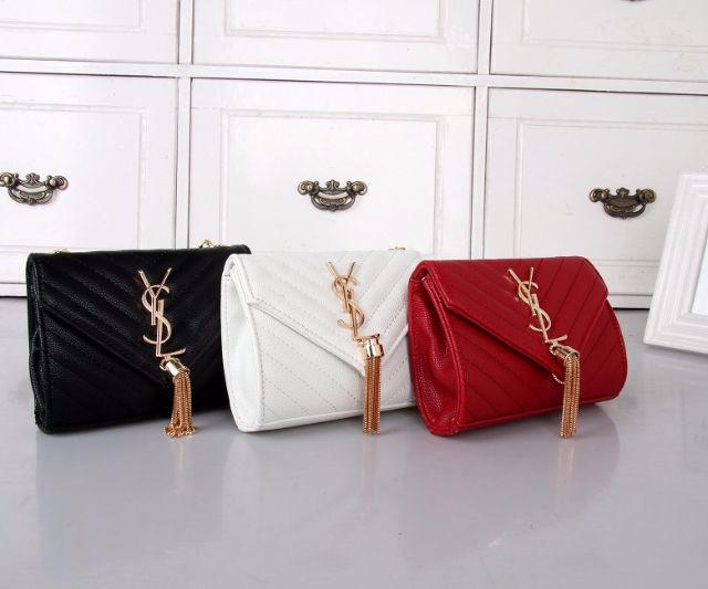 サンローラン新品 可愛いショルダーバッグ 3色