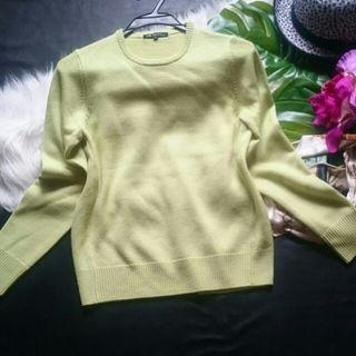 美品!23区羊毛×春色ニットセーター