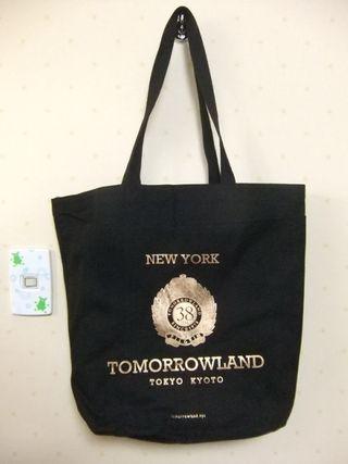 【新品】トゥモローランド 38周年記念 トートバッグ  黒